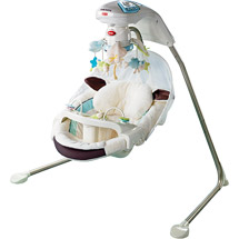 Baby Swing With Soothing Sounds