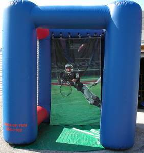 Louisville Inflatable Bouncer Rentals - All- American Football Moonwalk For Rent - Kentucky Party and Event Planning