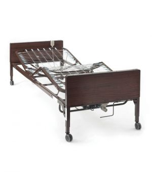 Semi-Electric Hospital Bed With Hand Controls