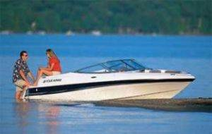 Four Winns 170 Horizon Ski Boat Rentals on Lake Michigan, MI