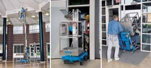 Genie AWP25s Pusharound Electric Man Lifts