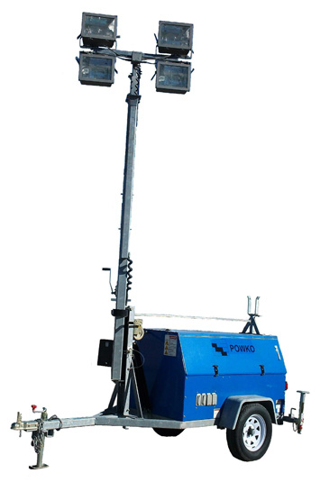 Find Portable Light Tower Rental for Job Sites in Austin, TX