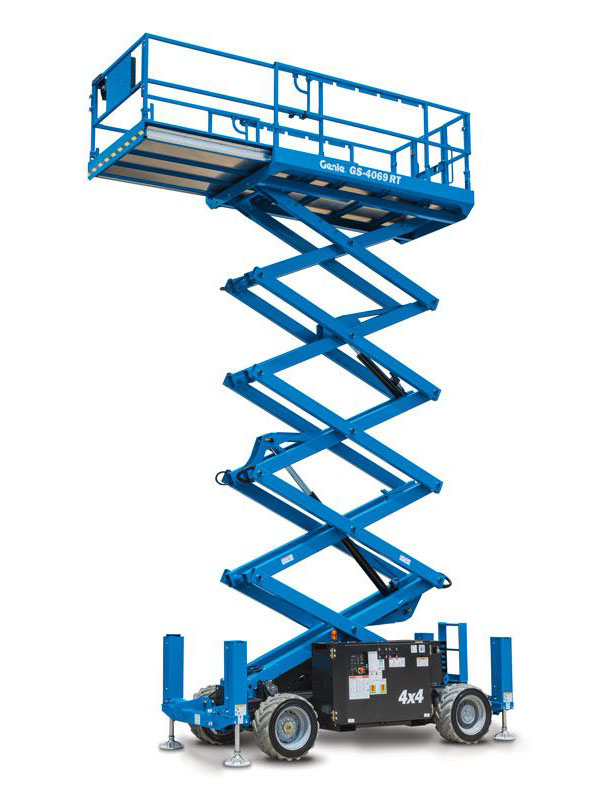 Find Rough Terrain Scissor Lifts For Rent Madison, Wisconsin