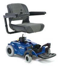 Tavel Power Chair Blue