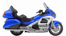 Blue Honda Goldwing 1800 For Rent In New Orleans