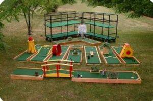 Louisville Party Rentals - Miniature Golf Game For Rent - Kentucky Party and Event Planning