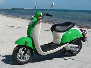 Key West Scooter Rentals -, Two Seat Scooter For Rent  - Florida Scooter Rental