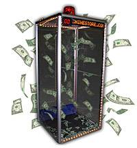 money blowing machine rental