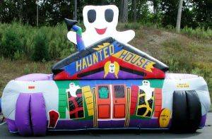 Image of Haunted Fun House Inflatable