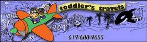 Toddler's Travels Logo In San Diego CA