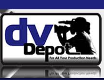 Caption: DvDepot Logo