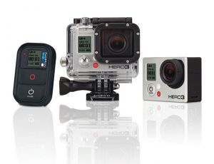 GoPro Hero3 digital camera with Wi-Fi remote