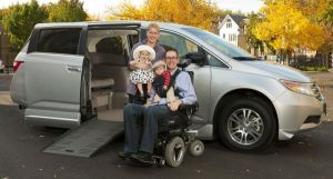 Handicap Accessible Mini Van