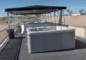 Upper Deck w/ Hot Tub 75ft Executive Boat Rentals in Lake Havasu, in Arizona