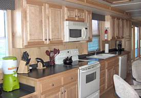 Kitchen 75ft Executive Houseboat for Rent in Lake Havasu, in Arizona