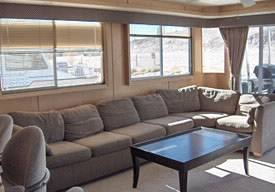 Living Area 75ft Executive Boat for Rent in Lake Havasu, in Arizona