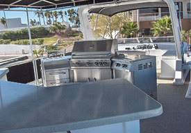 85ft Odyssey Grill Area Houseboat in Lake Havasu,AZ