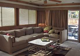 85ft Odyssey Living Area Houseboat For Rent in Lake Havasu, AZ