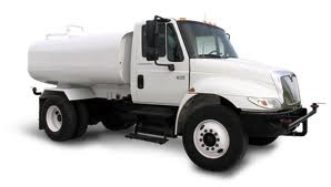 construction water truck with 2000 gallon tank