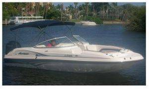 Cape Coral 22ft Voyager Boat Rental in Florida