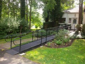Black Steel Handicap Ramps