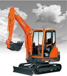 Murray Kubota KX71 Mini Excavator Rentals in Kentucky