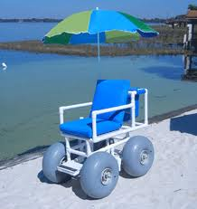 Non Reclining Beach Wheelchair