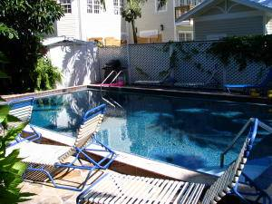 Island Style Heated Pool in Key West Vacation Rental
