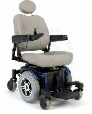 Powerchair with Footrest