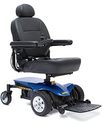 Electrie Power Chair Blue
