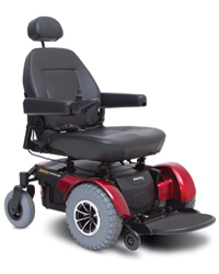 Bariatric Power Chair (Red)