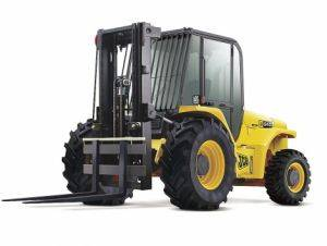 Asheville Straight Mast Rough Terrain Forklifts for Rent