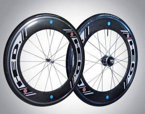 Charlotte HED Jet 9 Powertap Cycling Race Wheel Rentals