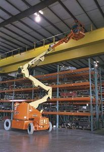 JLB e400 articulated boom lifts