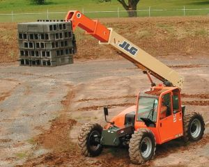 All Terrain JLG 6G 42A Reach Forklift For Rent