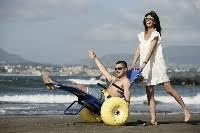 Hire Beach Wheelchair in Florence Italy