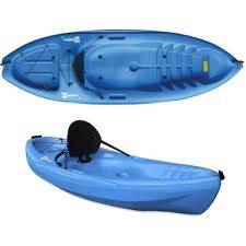 Blue Sit On Top Kayaks for Rent