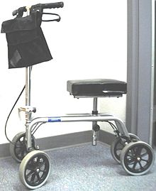 Picture of a Knee Scooter