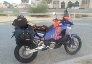 Motorcycle in Muscat Oman