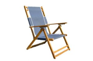 Large Wooden Beach Chair
