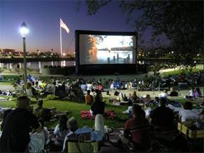 Large Outdoor Cinema for Rental in Ohio