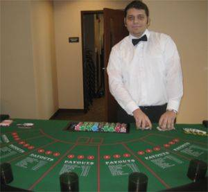 Let It Ride Poker Table For Rent in Chicago