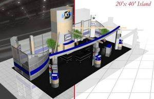 Houston Trade Show Display Rental