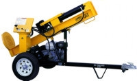 Towable Log Splitter Available in Davenport IA from Volvo Rents