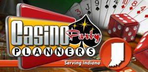 Logo for Casino Party Planners Indianpolis, Indiana