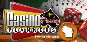 Logo for Casino Party Planners Milwaukee, Wisconsin