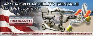 American Mobility Rentals Logo