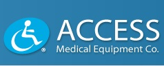 Logo For Access Medical Equipment Co.
