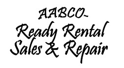 Logo For AABCO-Ready Rental Sales and Services