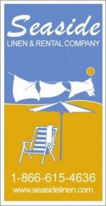 Logo Seaside Linen and Rental Company